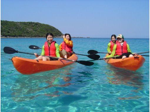 [Tanegashima ・ half-day] 1/2 Day Sea kayak Toursの紹介画像