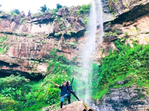 [Okinawa / Iriomote Island] You can play with confidence! Infection spread prevention measures store. Popular No.1 Pinaisara Falls Half-day AM Waterfall only Canoe & trekking