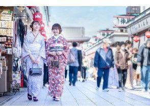 【金沢】着物一式&ヘアセット付&着付け込プラン!雨の日は雨傘無料レンタル中