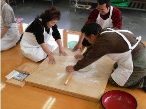 "[Yamagata / Mogami] [GoTo area common coupon target] Beautiful countryside scenery Experience making soba noodles at Furusatomiraikan surrounded by ""Yogamura Tanada""! Souvenir gift"
