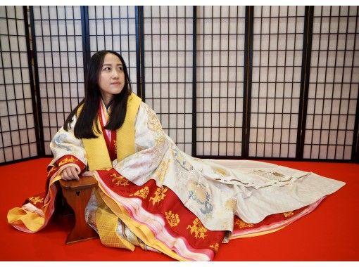 【東京・神楽坂】動画も写真も撮影自由!土日祝祭日・十二単着付け体験プラン