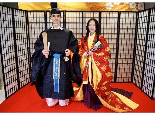 【東京・神楽坂】動画も写真も撮影自由!平日限定・束帯着付け体験プラン