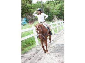【宮崎・馬上体操!】乗馬 ホースエクササイズの画像