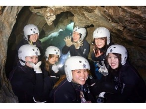 【Exploring groundwater caves】 Image of Cave Swimming Nara Course