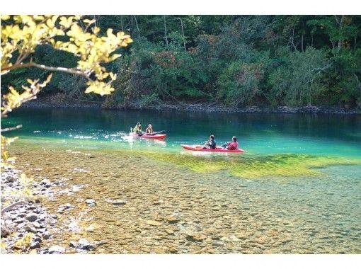【北海道・支笏湖】クリアカヤックツアー (GW限定) 11年連続水質日本1位 写真&温泉割引券プレゼントの紹介画像