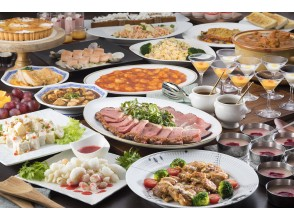 [Hakone 3-minute walk from Yumoto Station] about 40 different lunch buffet & Day bathing! Plan with break in the hall
