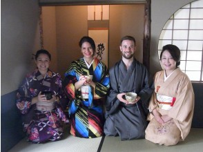 [Tokyo] Wear a kimono and experience the tea ceremony in a full-fledged tea room! Supports English and Chinese! Children can also experience it!