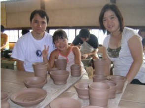 [Tochigi / Mashiko] The firing fee is also good! Experience authentic pottery with an electric potter's wheel! Family plan Regional common Use a coupon