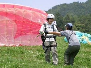 【Gunma · Minakami】 Paragliding license acquired! Image of Paramit Course (Stage 1)