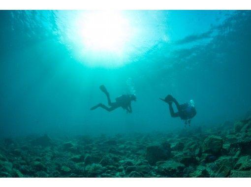 """[愛媛/愛南]就像一個熱帶國家!被豐富的魚類和美麗的珊瑚包圍的""""體驗深潛""""の紹介画像"""