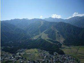 【長野・白馬】2人乗りタンデムパラグライダー!高度差750m【アルプス平コース】