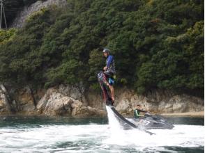 【兵庫・姫路】空飛ぶサーフィン!ホバーボード体験(15分)の画像
