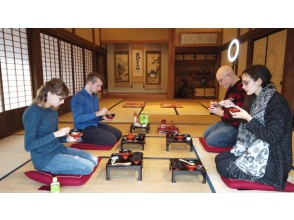 【Iwate】Local cuisine cooking & traditional hearth-fire lunch +lodging