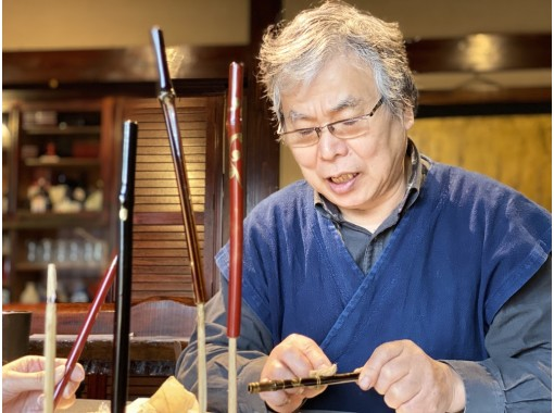【Miyagi・Naruko】Earth-friendly art: Bamboo straw workshop (with lunch)の紹介画像