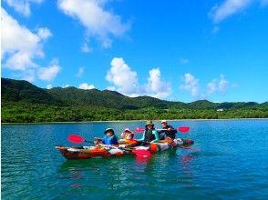 [Ishigaki Island / 1 day] ⑯ Phantom island landing & snorkeling & Kabira Bay SUPor canoe 1 day premium plan [Photo data free]