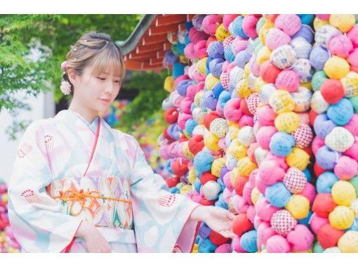 京都 祇園 着物レンタルプラン  6名以上のグループ一番人気!『ハイグレードプラン』の紹介画像