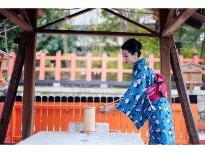"""京都G園和服租賃計劃最多容納6人以上的團體! """"高級計劃"""""""