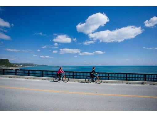 地域共通クーポン利用可!海中道路と4つの離島(平安座島・浜比嘉島・宮城島・伊計島)を絶景サイクリング!