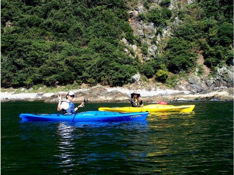 [Miyazaki / Nobeoka] Sea kayak experience in Hinata Matsushima!の紹介画像