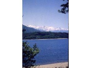 【長野・大町市 SUP】教室~信濃大町のトビッキリスイーツ・思索の青木湖・釣りの中綱湖・今中綱湖が面白い