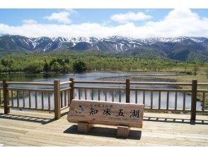 知床五湖とカムイワッカ湯の滝ツアー