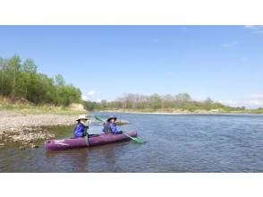 [Hokkaido / Tokachi] Relaxing on the magnificent Tokachi River, enjoy the river and wild birds and canoeing tours!