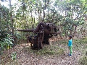 [Ogasawara ・ half-day Battlefield Tour] Around the history of war remaining in nature