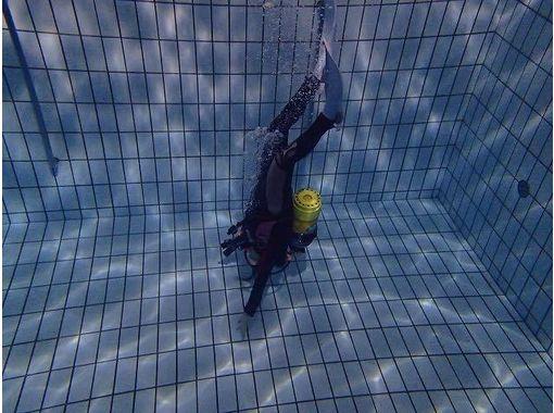 【相模大野・初心者歓迎】プールで体験ダイビング
