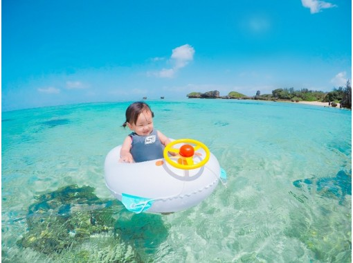 [Free up to 3 years old] Participation is possible from 1 to 70 years old 1 group charter Safe for first-time users ★ Beach snorkel ★ Free photography & feeding! Regional common coupons can be used!の紹介画像