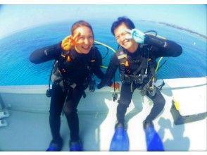 【沖縄・伊江島】抜群の透明度を誇る伊江島で「体験ダイビング」!カップル、団体、ファミリー大歓迎!