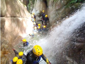 【Shiga · Shower Climbing】 100 waterfalls in Japan! Yubibuchi waterfall (half-day B course) 11: 00 Image of the assembly «SC-2»