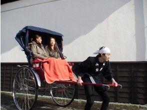 新潟県 加茂市 「カフェでお食事と人力車乗車体験」