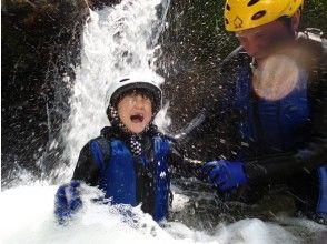【滋賀・シャワークライミング】日本の滝百選!八ッ淵の滝ファミリーツアー(半日コース:11:00集合)の画像