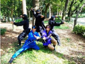 【東京・高円寺】忍者体験・お子様と一緒に遊べる忍者ショー!あわ玉(あめ)つき