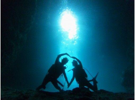 [冲绳/蓝洞/潜水爱好者]喜欢喂蓝洞和热带鱼!热门GoPro照片和视频免费★超级稀有!冲绳地方指南★の紹介画像