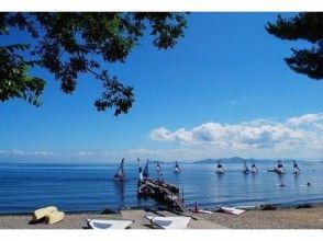 【滋賀・琵琶湖】2名以上の予約で割引あり!ウインドサーフィン1日スクール(初心者対象)の画像