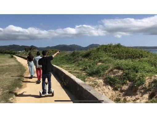 【沖縄初!】【グループ割引】電動キックボードで沖縄満喫♪一日乗り放題プラン!