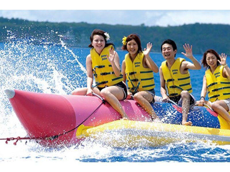 【和歌山県・田辺市】バナナボート!南紀白浜で最新・最先端のマリンスポーツ超新感覚体験ができる!の紹介画像