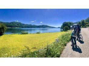 【長野・大町】e-bikeでラクラク!北アルプスの大自然&絶景満喫 大町周遊サイクリングツアー 「仁科三湖ぐるっとトリップ」