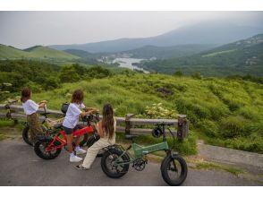 【 白樺湖 e-バイクサイクリング ツアー】MATE.BIKEで絶景コースをツーリング!