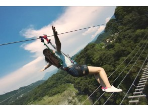 [Saitama / Chichibu] Adrenaline is fully open! !! Canyon Walk & Fly