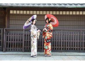 "Local coupon dealer [Gion / Kiyomizu-dera] Kimono rental / everything you need is included! Gorgeous furisode plan ""Kyoto experience immediately after wearing Kiyomizu-dera soba! 』\"