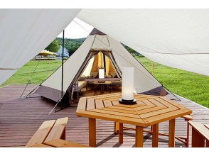 [Appi Kogen, Iwate Prefecture] Glamping Accommodation plan with BBQ dinner [3 people] -★ Pet accommodation OK ★