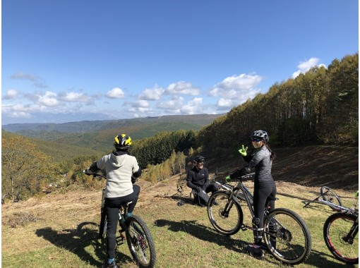 Dusk plan Complete charter tour No climbing !! Why don't you experience a little mountain bike?の紹介画像