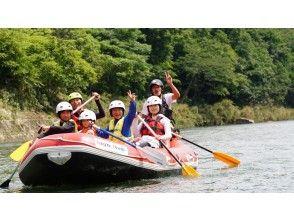 [広島/莊原市]歡迎家長和兒童/初學者!廣島河遊船広島山漂流家庭半日遊