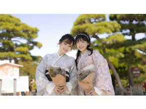 [Kyoto / Gion / Kimono rental] Basara's location photo plan! Let's leave the gorgeous kimono in Kyoto in the best one! Yukata is also OK from June to September !!