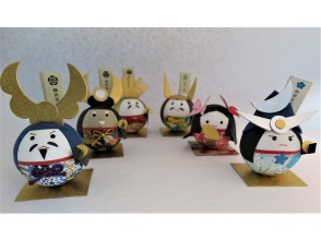 """[Gifu / Mino] Handmade experience of """"Washi Korokoro Warlords Series"""" in a historic townscape! Recommended for families and girls traveling! [Free service] Gachapon once!"""