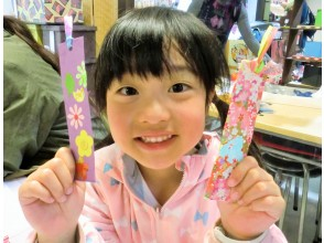 """[Gifu / Mino] Great value with a set ♪ """"Washi Korokoro"""" + """"Washi Bookmark"""" handmade experience! Recommended for families and couples! [Free service] Gachapon once!"""