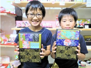 [Gifu / Mino] -Cartonage-Japanese paper box making experience! Even the first person is OK! Recommended for families and girls traveling! [Free service] Gachapon once!
