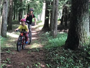 Guided tour for your first mountain bike! There is a Bike rental
